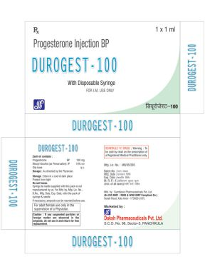 DUROGEST(TM) - 100 - Daksh Pharmaceuticals Private Limited
