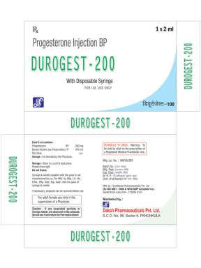 DUROGEST(TM) - 200 - Daksh Pharmaceuticals Private Limited